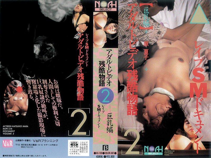レ●プSMドキュメント アダルトビデオ残酷物語2 原夏子 as-130